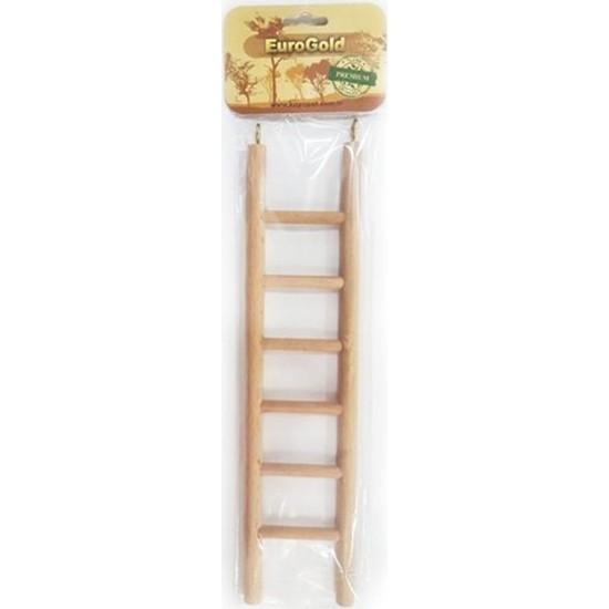 Eurogold Ahşap Kuş Oyuncağı Merdiven 6 Basamaklı 30 cm