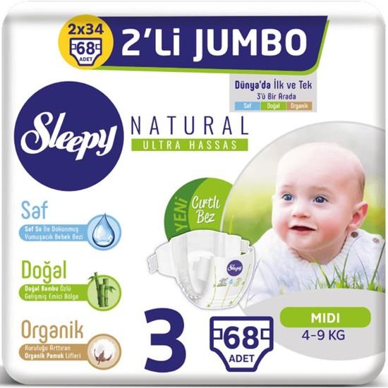 Sleepy 2'li Jumbo 3 Beden