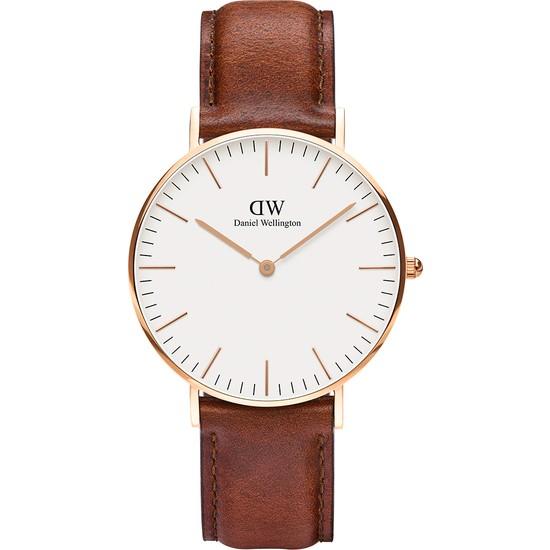 Daniel Wellington Classic 36 St Mawes RG White Erkek Kol Saati DW00600035