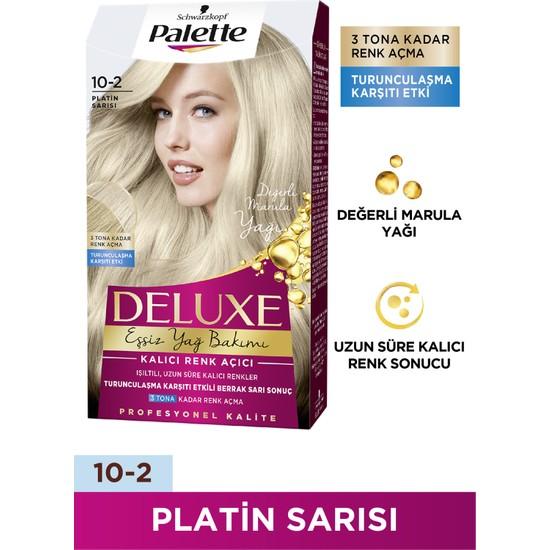 Palette Deluxe 10-2 PLATİN SARISI