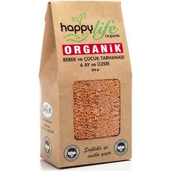 Happy Life Organik Bebek Tarhanası 250 gr