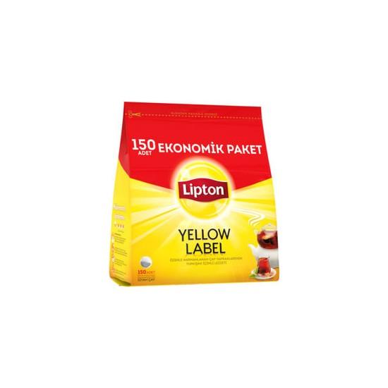 Lipton Yellow Label Demlik Poşet Çay 150'li