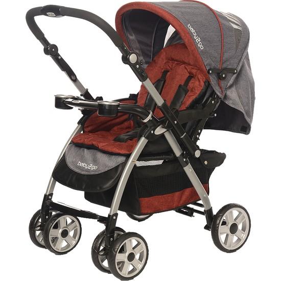 Baby2Go 8025 Carnaval Çift Yönlü Bebek Arabası Mor