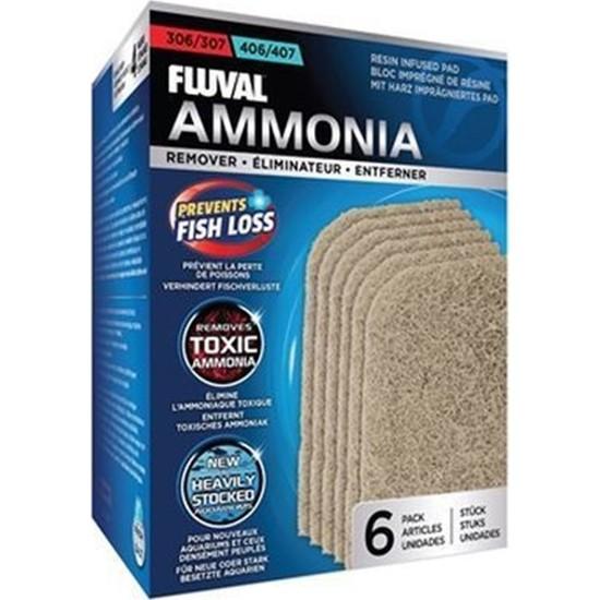 Fluval 307407 Ammonia Remover 6 'lı Paket