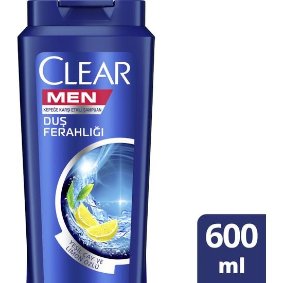 Clear Men Yağlı Saç Derisi İçin Maksimum Ferahlık Şampuan 600 ml