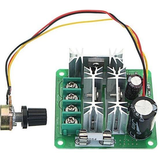 Motorobit Ccmhcn 15A 6-90V Pwm Dc Motor Hız Kontrol Modülü