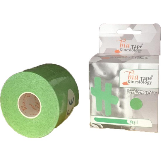Bia Tape Kinesio Sporcu Bandı 5 cm x 5 M Yeşil
