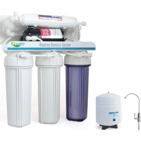 Aquabir 5 Aşamalı Pompalı Su Arıtma Cihazı