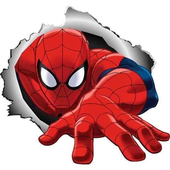 Sticker Fabrikası Spider Man Örümcek Adam Peter Parker Sticker 00177