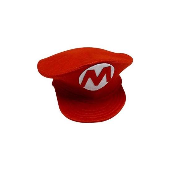 Kostümce Süper Mario Çocuk Şapkası