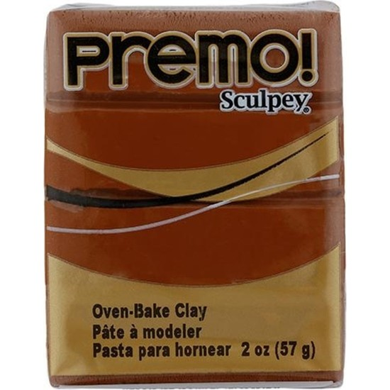 Sculpey 5392 Premo Polimer Kil 57 gr Raw Sienna