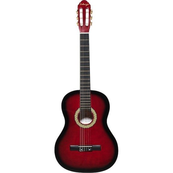 Cadenza NC139 4/4 Kırmızı Klasik Gitar