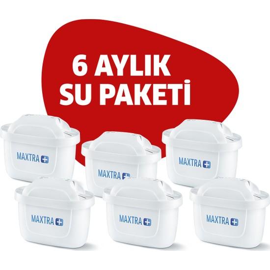 BRITA Maxtra+ 6'lı Paket Sürahi Yedek Filtresi