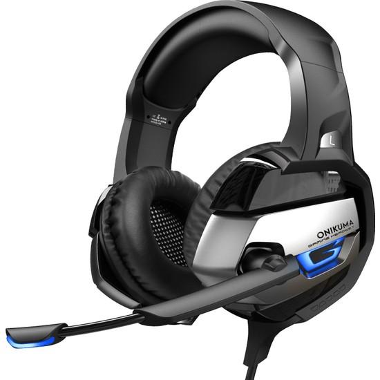 Onikuma K5 Gaming Kulaklık Siyah/Gri PC/PS4/XBOX