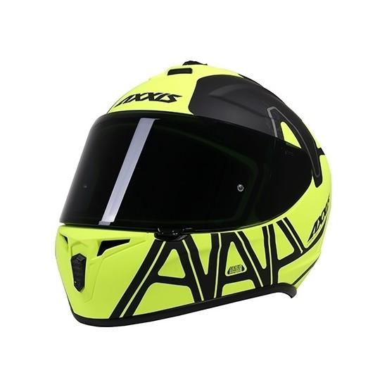 Axxis Draken Dekers Matt Fluor-Yellow L