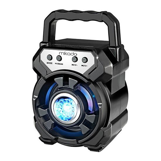Mikado MD-BT65S 5W 800mAh 3.7V Siyah USB/TF Cart / Bluetooth Taşınabilir Speaker
