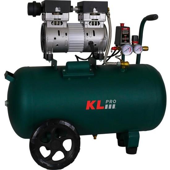 KLPRO KLK50S Sessiz Kompresör 8 Bar 50 lt