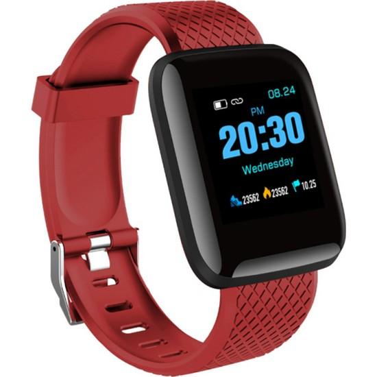 Yukka Android Iphone İçin Akıllı Saat Nabız Takibi Tansiyon Ölçer Akıllı Bant IP67 Su Geçirmez (Yurt Dışından)