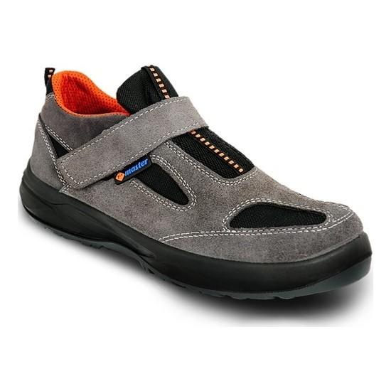 Master Çelik Burunsuz Yazlık Süet Ayakkabı 5001-S1