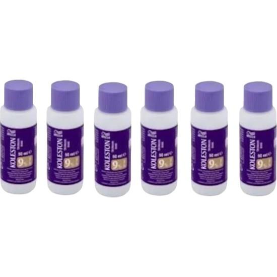 Wella Koleston Oksidasyon Boya Sıvısı %9 - 30 Volume 6 Adet 50 ml
