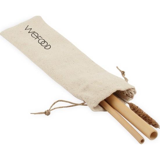 Wefood Bambu Pipet Seti 2'li