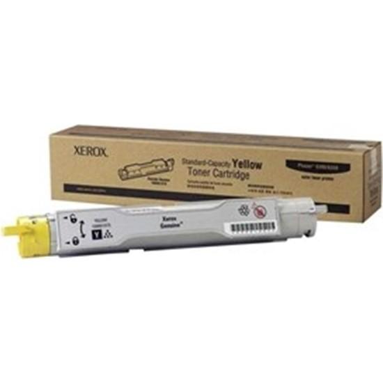 Xerox Phaser 6300DN Sarı 4000 Sayfa Çapraz Renkli Toner