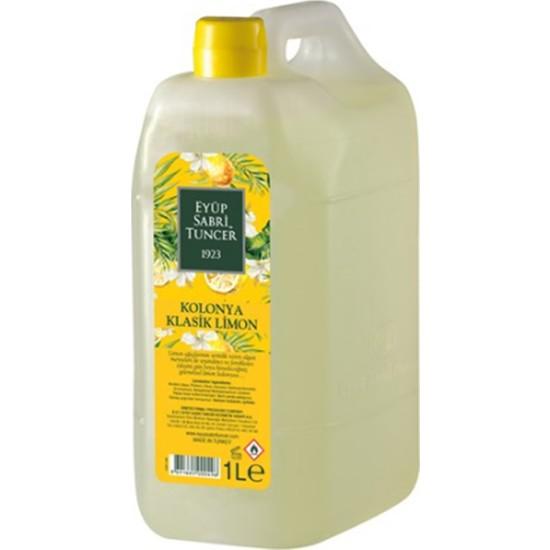 Eyüp Sabri Tuncer Klasik Limon Kolonyası 80 Derece 1 lt