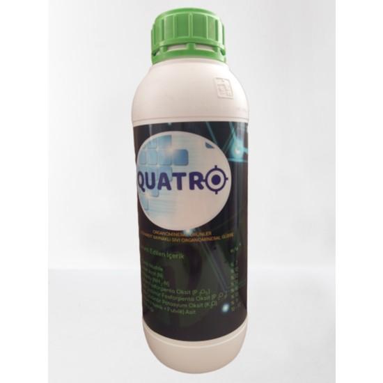 Quatro Leonardit Kaynaklı Sıvı Organomineral Gübre 1 lt