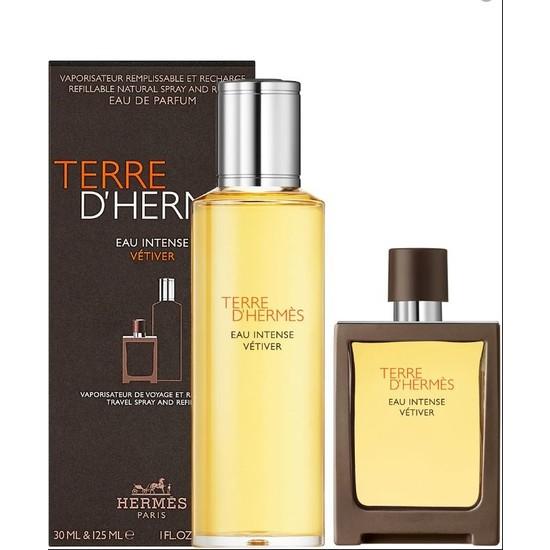 Hermes Terre D'hermes Eau Intense Vetiver Edp 30 ml + 125 ml