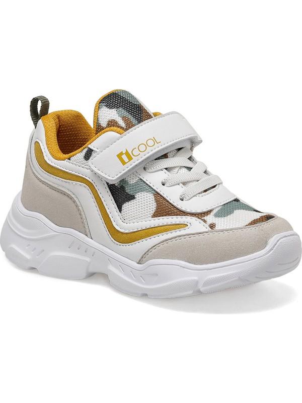 I Cool RAINBOW Gri Erkek Çocuk Yürüyüş Ayakkabısı