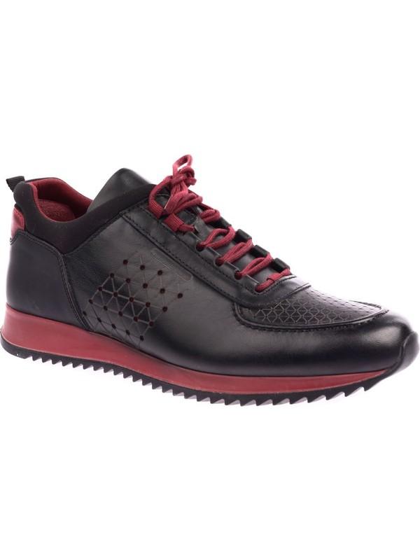 Dgn 1940 Erkek Lazerli Eva Taban Bağcıklı Sneakers Ayakkabı 20Y