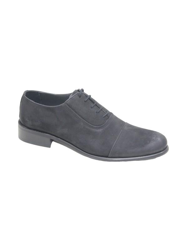 Footmark F1152014 Siyah Nubuk Deri Neolit Taban Erkek Ayakkabı