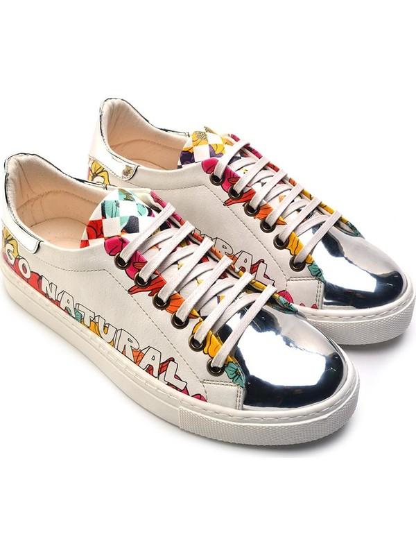 Goby GOB210 Gümüş Kadın Ayakkabı