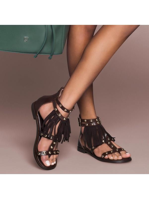 Desa Kirby Kadın Deri Sandalet