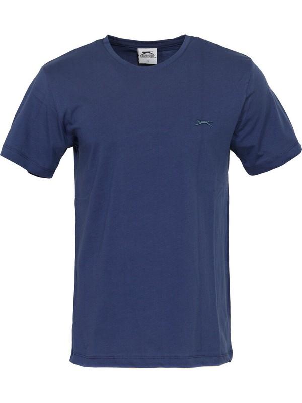 Slazenger Sander İndigo Erkek T-Shirt