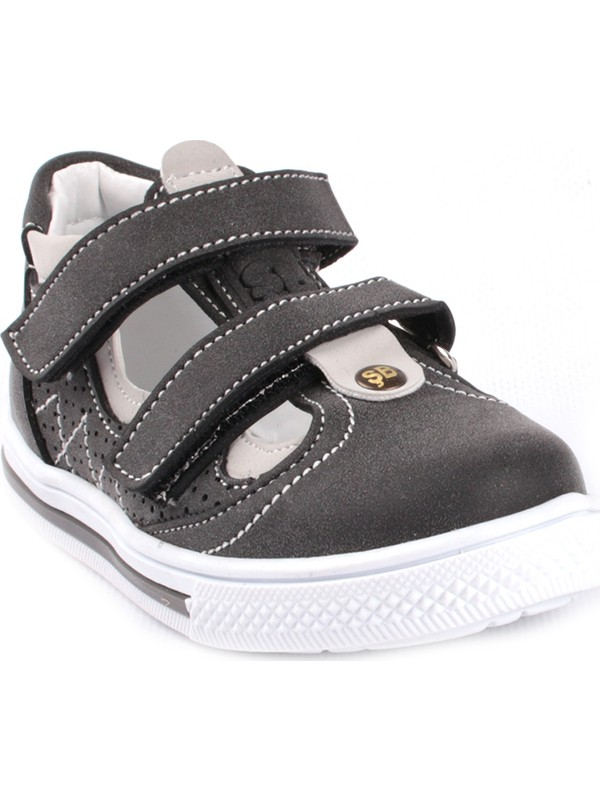 Şirin Bebe Erkek Çocuk Ayakkabı Füme