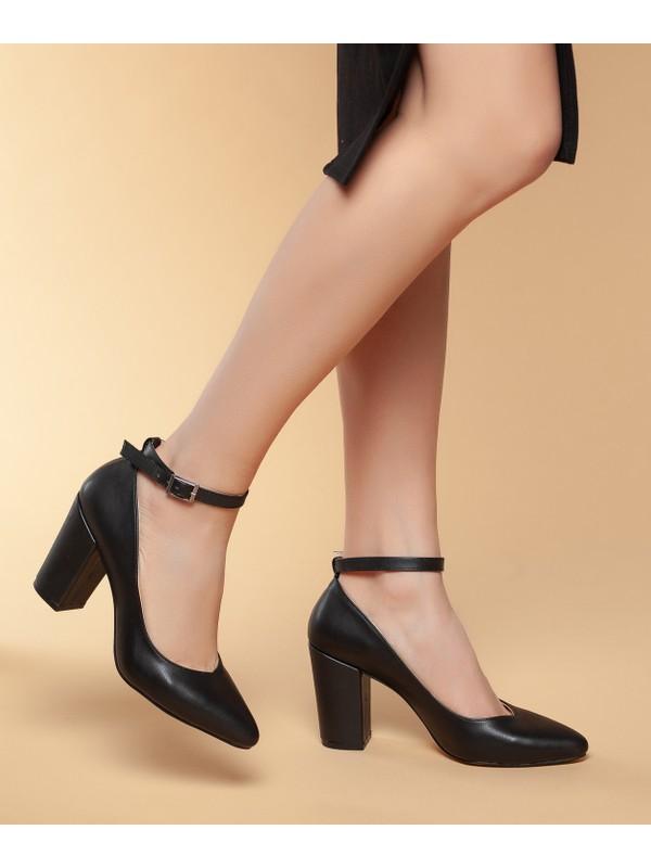 Daxtos D0715 Günlük Kadın Topuklu Klasik Ayakkabı