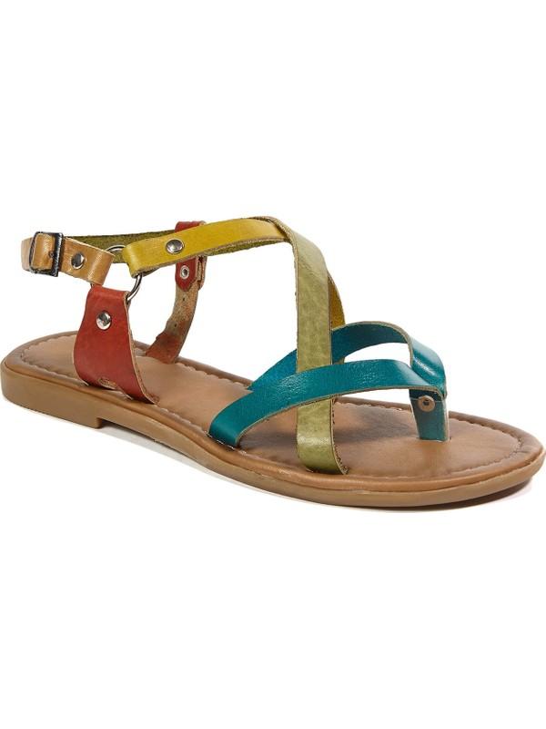 Desa Kayla Kadın Deri Sandalet