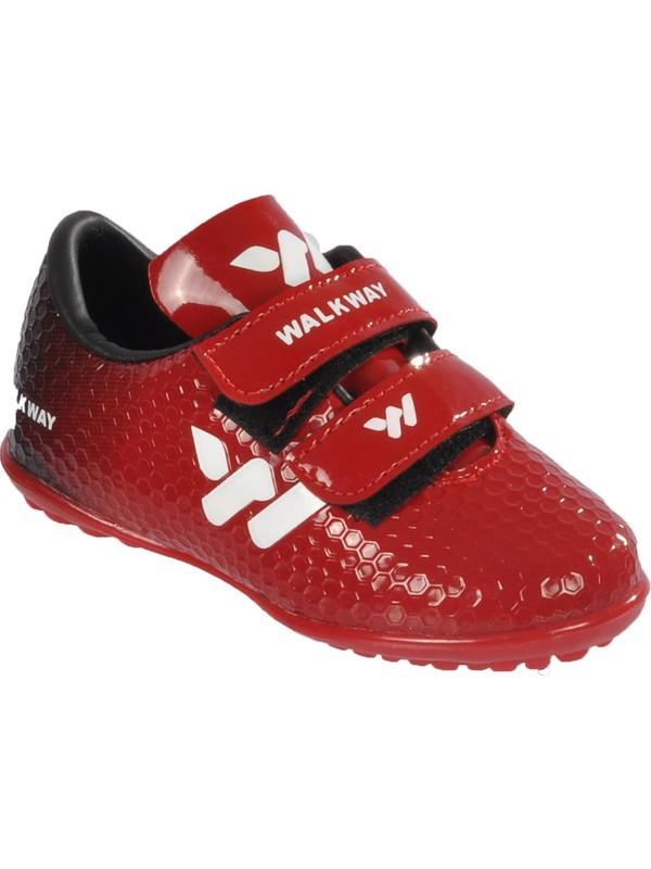 Walkway 023 Kırmızı Çocuk Halı Saha Ayakkabısı