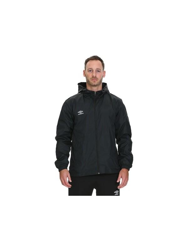 Umbro Dry Park Otton TM-0004 Veste de pluie pour course /à pied Medium Noir