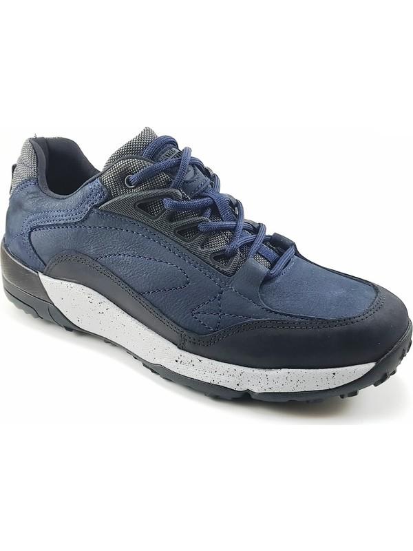 Greyder Günlük Erkek Ayakkabı Lacivert Nubuk