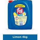 Pril Sıvı Elde Bulaşık Yıkama Deterjanı Limon 4 kg