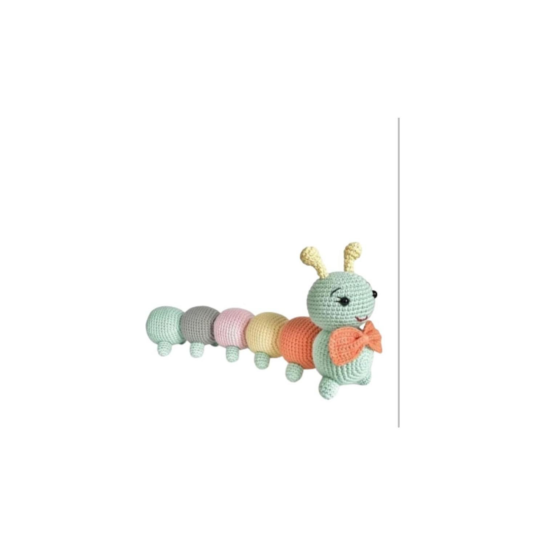 Amigurumi Tırtıl – Eğlen Bizle | 1500x1500