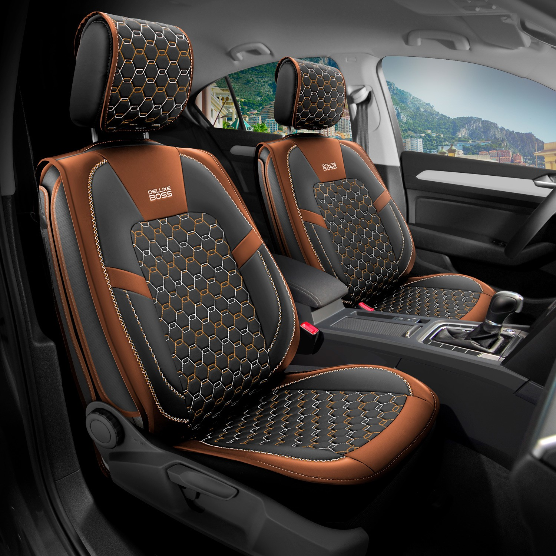 Deluxe Boss Peugeot 3008 Deri Oto Koltuk Kilifi Deluxe Fiyati