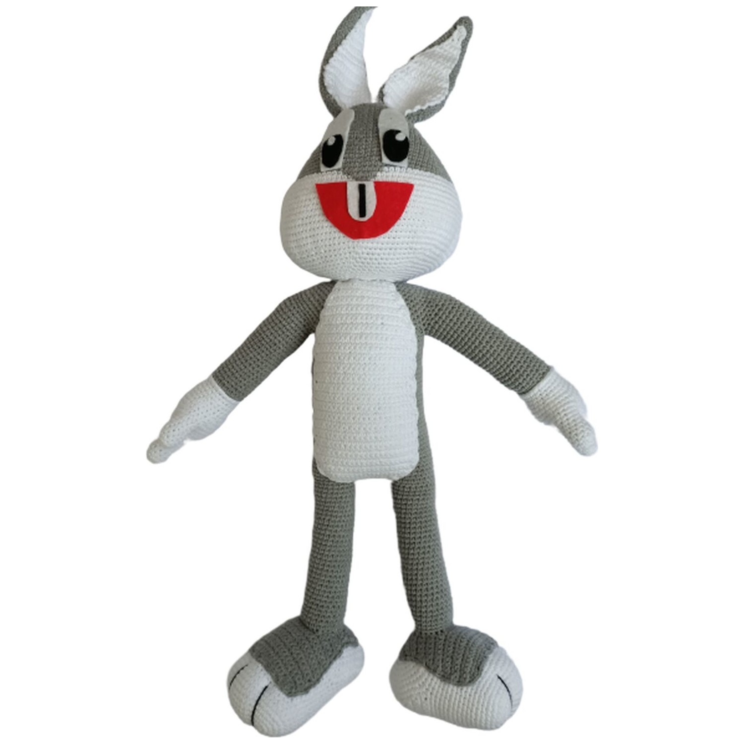Bugs Bunny - free pdf pattern ( written in French ) | Bugs bunny ... | 1500x1500