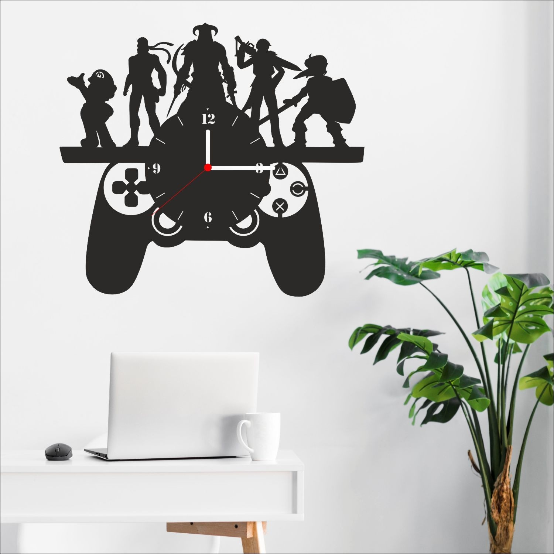 Algelsin Dekoratif Oyun Konsolu Joystick Modelli Ahşap Duvar Fiyatı