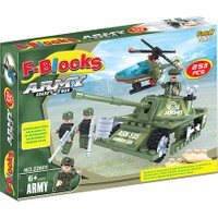 Furkan Toys F-Blocks Asker Seri 253 Parça