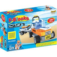Furkan Toys F-Blocks City Seri 124 Parça