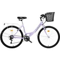 Bisan Cts 5100 Şehir Bisikleti 2020 Üretim 26 Jant Lila