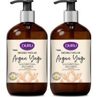 Duru Değerli Yağlar Nemlendiricili Argan Yağı Sıvı Sabun 2 x 500 ml